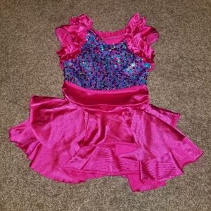 Weissman Girls Dance Costume Pageant Dress XSC 4/5